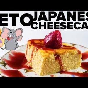 Best Keto Cheesecake Recipe || Japanese Cheesecake by Hungry Elephant