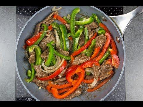 Keto Pepper Steak Low Carb Recipe