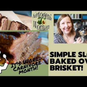 Simple Oven Cooked Brisket Recipe – Keto and Carnivore Diet Dinner Recipe Ideas
