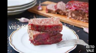 Keto Beef And Pork Meatloaf Gluten Free Low Carb Recipe