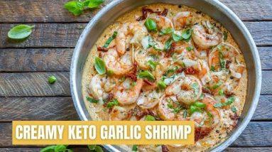 Creamy Butter Shrimp Recipe  #Shorts  Keto Recipes  #keto