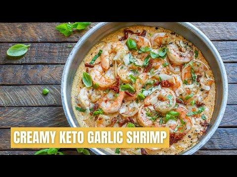 Creamy Butter Shrimp Recipe| #Shorts| Keto Recipes| #keto