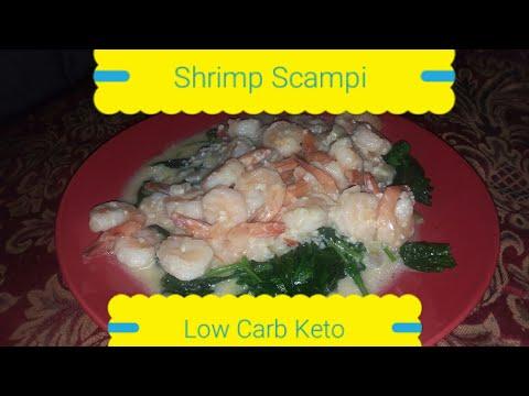 Shrimp Scampi Recipe – Keto low carb