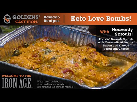What is the Best Keto BBQ Recipe? (Keto Chicken Love Bombs!) – Goldens' Cast Iron Kamado