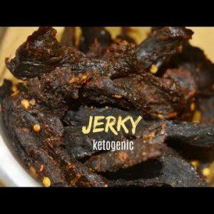 Keto Jerky in oven | Buffalo meat Jerky | Keto Recipes | Keto Snack | Low Carb