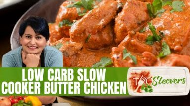 Low Carb Slow Cooker Butter Chicken Recipe