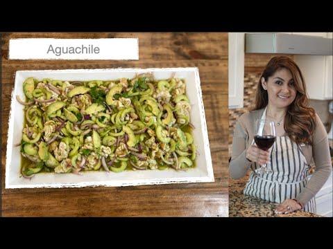 Aguachile Verde Recipe | Mariscos Recipe | Spicy Mexican Shrimp | Jenny Martinez