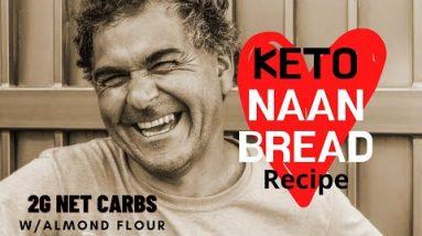 Keto Naan Bread Almond Flour Recipe | The Best Keto Naan Without Psyllium Husk