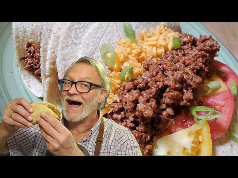 KETO BEEF TACOS! EASY, FAST HOMEMADE LCHF TEX MEX