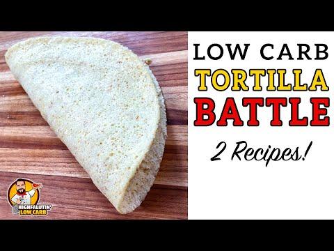 Low Carb TORTILLA Battle – The BEST Keto Tortilla Recipe!