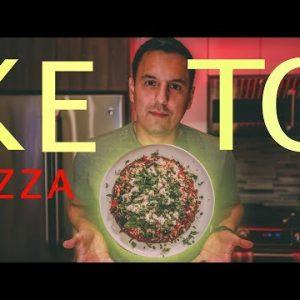 How To Make The Best Keto Pizza | Vegan Recipe