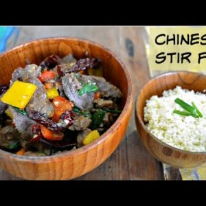 Keto Beef and Peppers Stir Fry   Stir Fried Meat and Veggies   Keto Recipes