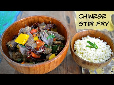 Keto Beef and Peppers Stir Fry | Stir Fried Meat and Veggies | Keto Recipes