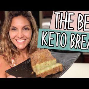 The Best Keto Bread Recipe EVER! (NO BREAD MAKER)