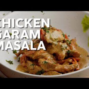 1-Min Recipe • Chicken garam masala • Quick and keto!