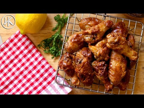 Peanut Butter Chicken Wings | Keto Recipes | Collaboration with BBQ And Bottles