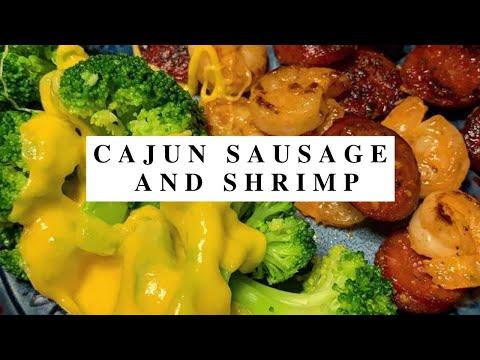 Cajun Sausage and Shrimp|Keto Recipes|Keto Diet For Everyone