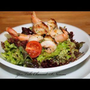 Keto Diet Shrimp Salad Recipe।How to Make keto Diet Salad Recipe l keto Diet Dinner l