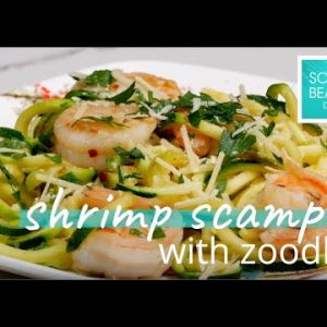 Shrimp Scampi with Zoodles – South Beach Diet Recipe