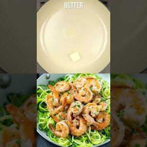 Keto Shrimp Scampi Zoodles Recipe