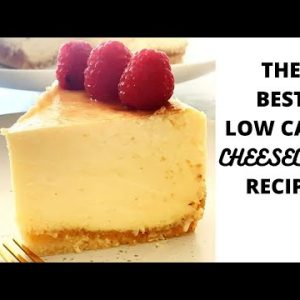 How to make THE BEST low carb CHEESECAKE   Keto   LCHF recipe   New York Style Baked Cheesecake