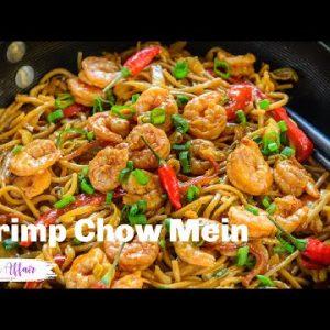Super Quick Shrimp Chow Mein Recipe
