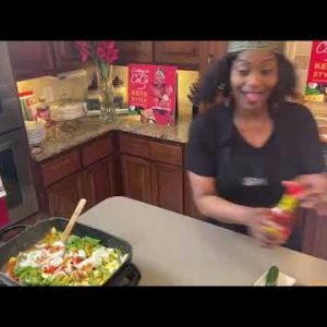Cooking with CoCo Keto Style: Shrimp & Vegetables Cajun Style w/ Southern Sautéed Corn