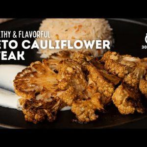 Keto Cauliflower Steak | Cauliflower Steak Recipe | Steak Recipe | Keto Recipe | Cookd