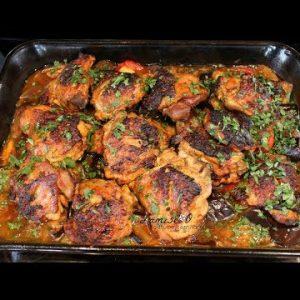 Harissa Chicken Oven Baked | Keto Chicken Recipe | Episode 201