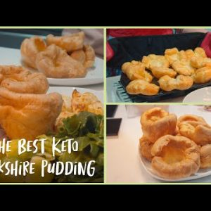 The BEST Keto yorkshire puddings – UK Keto recipe