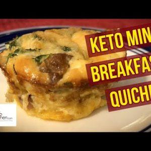 Keto Mini Breakfast Quiche Recipe   Great for Meal Prep #keto #ketodiet #ketorecipes