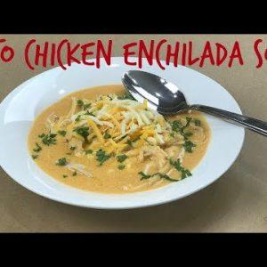 Keto Chicken Enchilada Soup