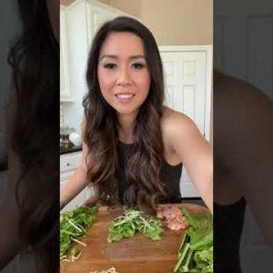 Low Carb Recipes   #keto How to make Vietnamese Shrimp Spring Rolls with Homemade Peanut Sauce.