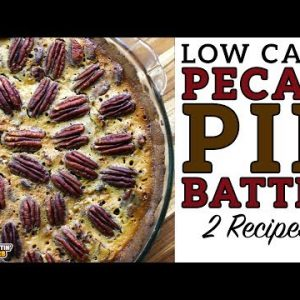 Low Carb PECAN PIE BATTLE – The BEST Keto Pecan Pie Recipe!