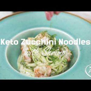 How to Make Keto Pasta with Shrimp