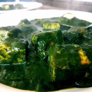 Keto Recipes I Best Low Carb Palak Paneer I Cottage Cheese cooked in Creamy Spinach Gravy