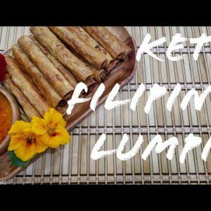 KETO LUMPIA RECIPE | How to make Low Carb Filipino Lumpia