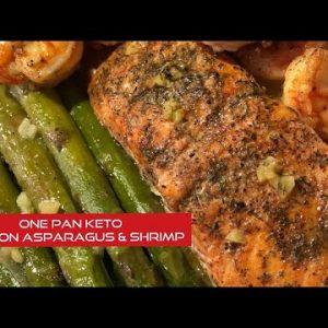 One Pan Keto Salmon and Veggies
