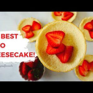 THE BEST KETO MINI CHEESECAKES! I Easy Keto Dessert Recipe I Low Carb Dessert Recipe
