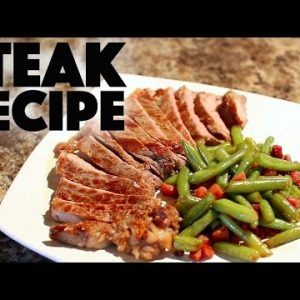 Cast iron skillet beef rib eye steak – low carb .- ketogenic – ketosis – keto diet – high fat
