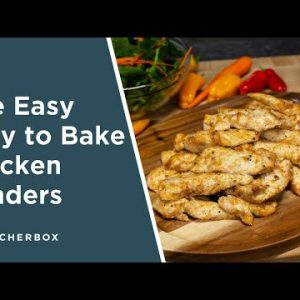 Easy and Quick Baked Chicken Tenders