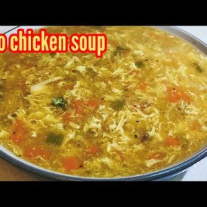 Keto chicken soup – quick and easy Winter special dinner recipe by Cooking with Parvin & Shamsul