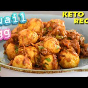 #QUAIL EGG ROAST | Keto Egg Masala (Anda Masala Fry)| Keto Recipes | Quail egg recipes |Easy recipes