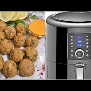 KETO Tuna Balls in OMORC Air Fryer
