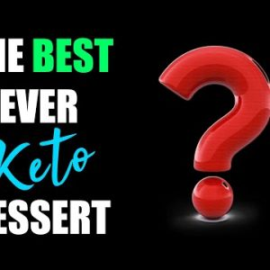 The BEST Keto Dessert Recipe EVER!!! Easy Keto Dessert Recipe