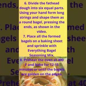 Keto Bagels Almond Flour Recipe   Low Carb Keto Bagels Easy Recipes #ketobagelsalmoundflour #shorts