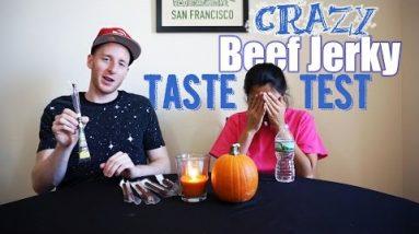 Keto Beef Jerky Taste Test!  We Sample Some Wild and Crazy Keto Beef Jerky   Keto Snacks