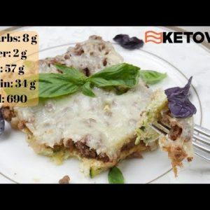 Keto Zucchini Pizza Casserole   Best Keto Recipes 2019   Ketovian