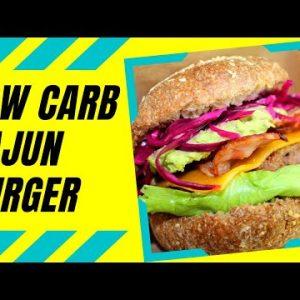 Cajun Burger Recipe  | The best Keto/Low carb Juicy Cajun Burger Recipe | Fuzz & Buzz