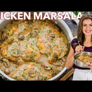 Creamy Chicken Marsala Recipe – 30 Minute Dinner